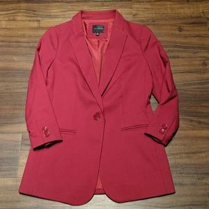 The Limited Red Blazer Size XS